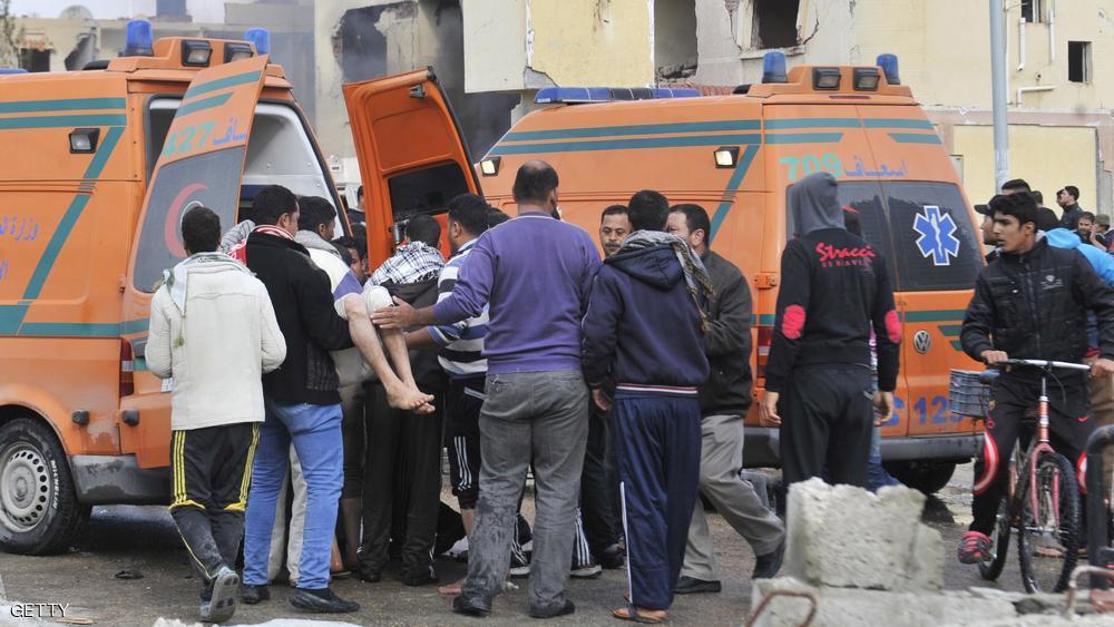 قتل 9 أشخاص في هجومين بمدينة العريش محافظة شمال سيناء الاربعاء 11/11/2015