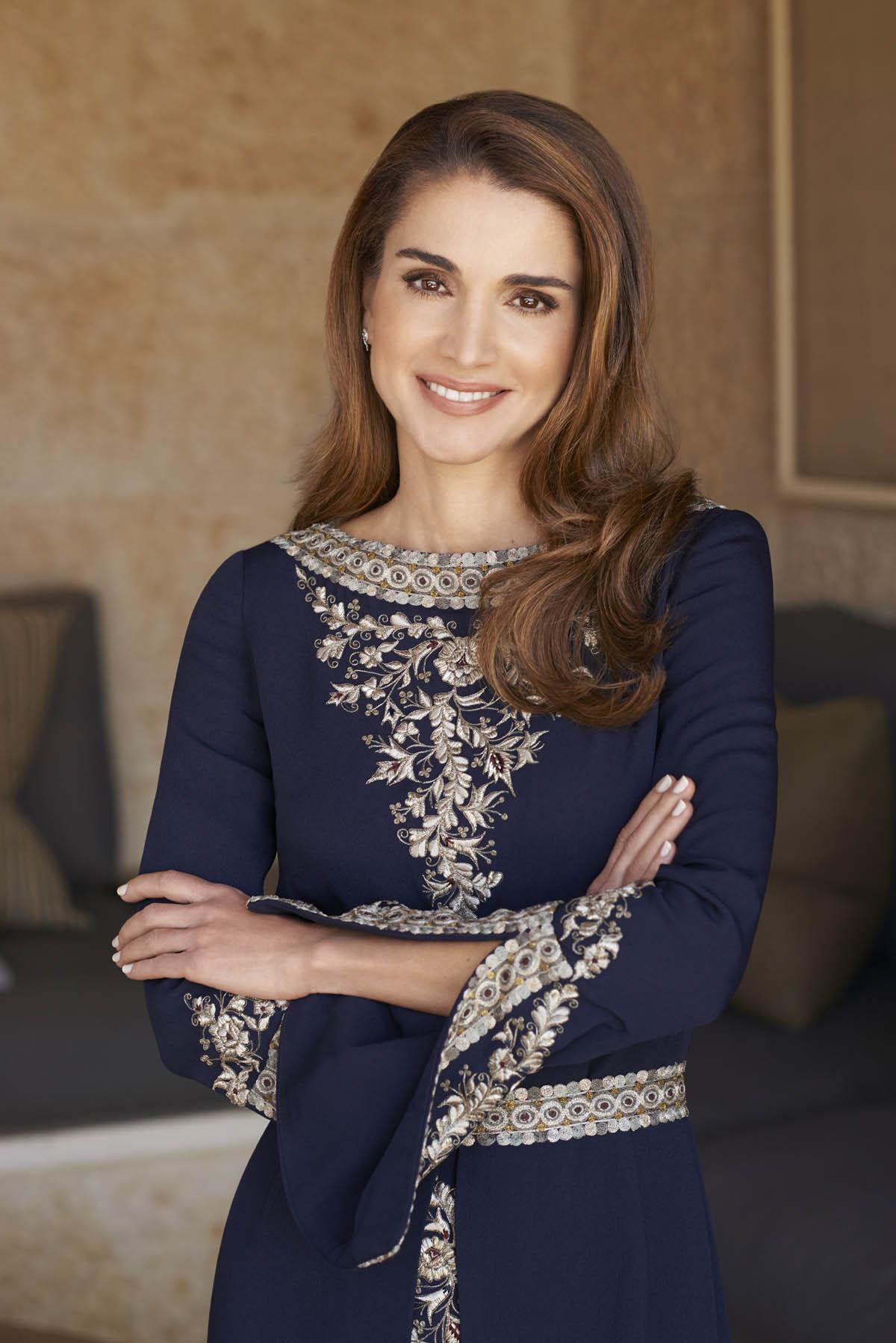 جلالة الملكة رانيا تهنىء الشعب الاردني بمولد سيدنا محمد عليه الصلاة والسلام