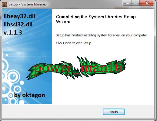 برنامج صغير لحل مشكلة عدم وجود الملفات vhelper.md و libssl32.dll و libeay32.dll 33383706891243163472