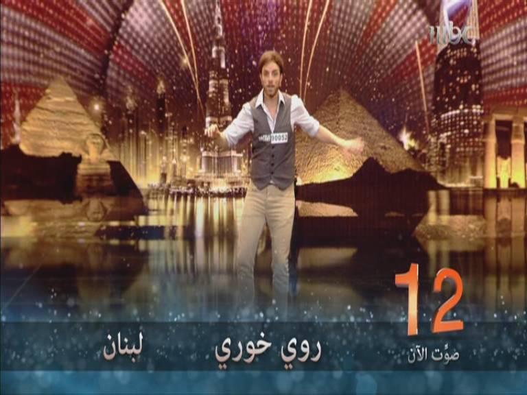 يوتيوب أداء روي خوري - لبنان -Arabs Got Talent العروض المباشرة السبت 2-11-2013
