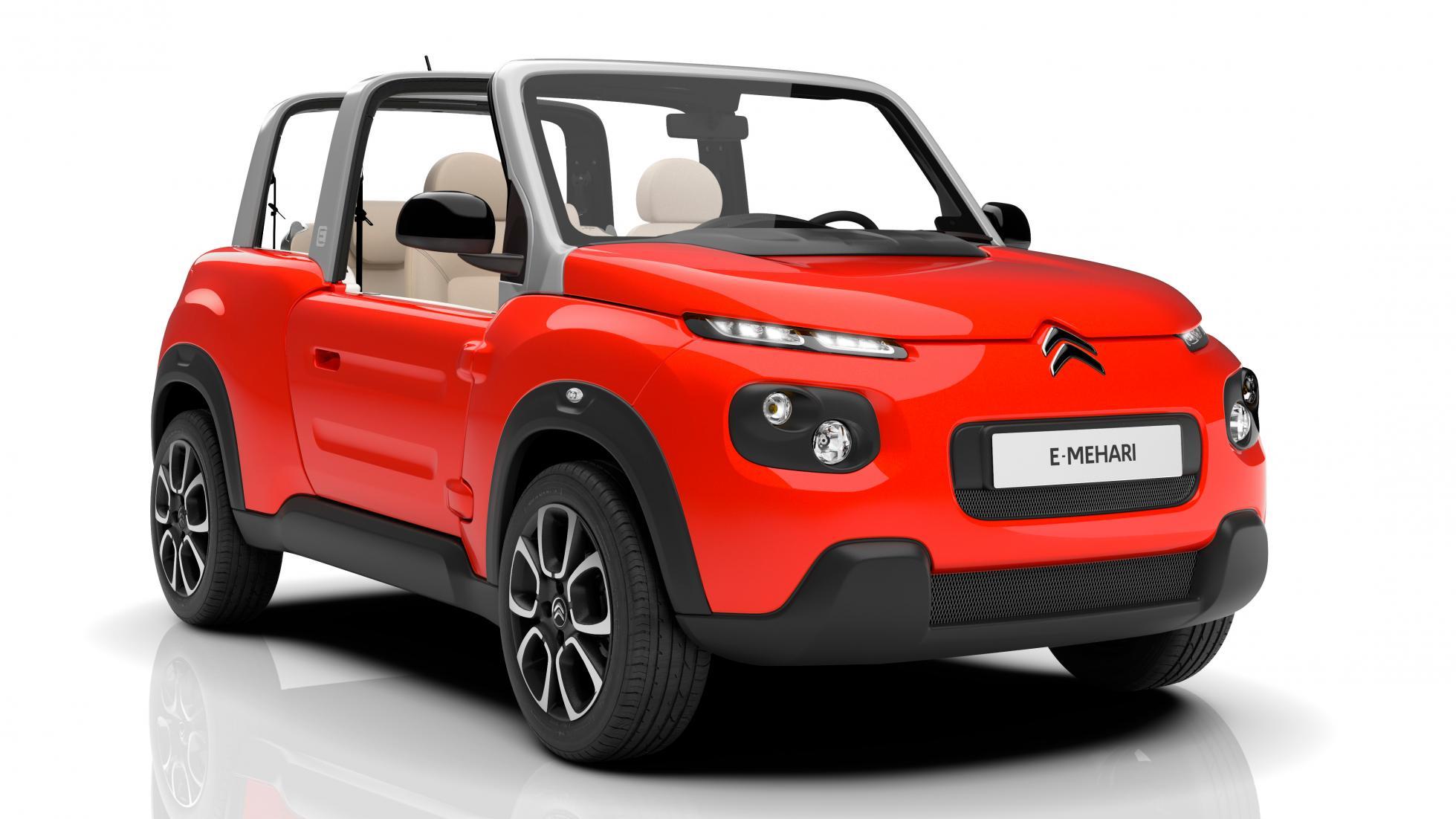 صور سياره سيتروين الكهربائية 2016 - اسعار سياره سيتروين الكهربائية E-Mehari
