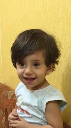 وفاة الطفلة سولاف بنجران صور