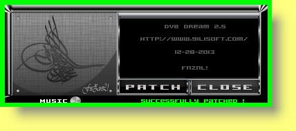 احدث اصدر من برنامج DVB Dream V 2.5 نسخه جديده 2014 روعه , نسخة مفعله بالباتش السحرى 2014