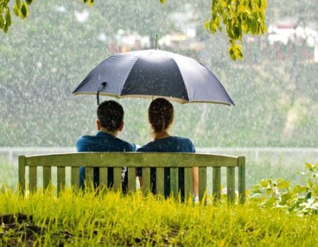 لماذا نشعر بانتعاش الجو بعد هطول المطر