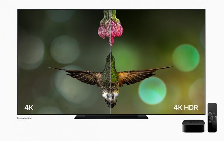 معلومات عن تلفاز آبل بدقة Apple TV 4K بمعالج A10X
