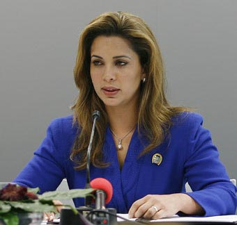 الاميرة هيا الحسين سيدة العام المرموقة للفروسية