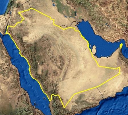 صور خريطة المملكة العربية السعودية صماء , طباعة خريطة السعودية صماء