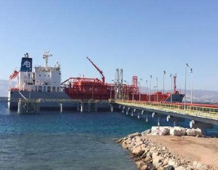 ميناء الغاز في العقبة يضخ لمحطات الكهرباء 315 مليون قدم مكعب يوميا