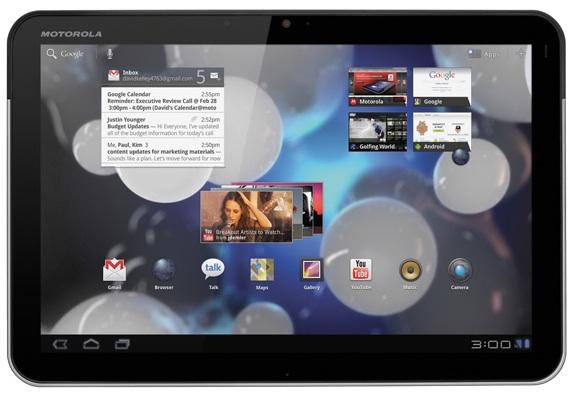 تحديث Motorola Xoom WiFi نسخة Android 4.0.4 رسمي