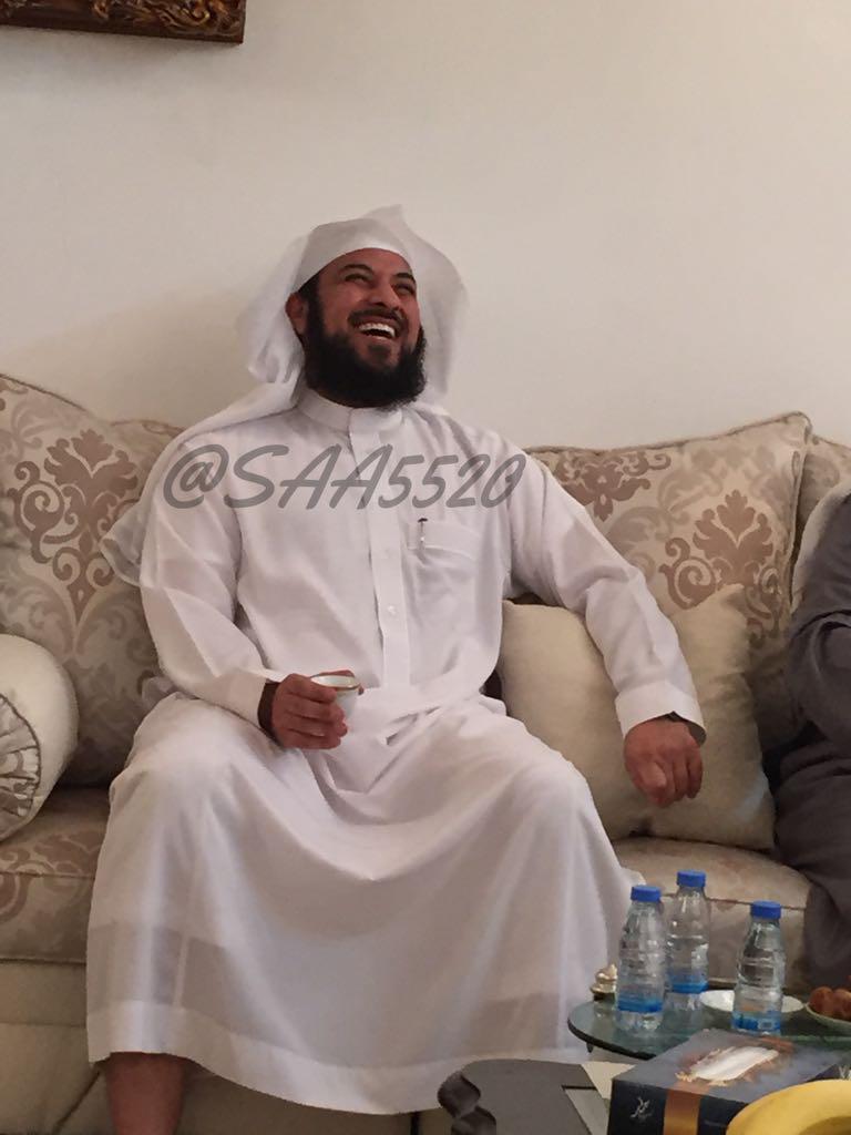 احدث صور الشيخ محمد العريفي بعد أن تم الإفراج عنه اليوم 1436