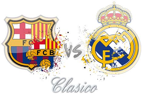 القنوات الناقلة و موعد وتوقيت مباراة برشلونة وريال مدريد كلاسيكو اليوم الاحد 23-3-2014
