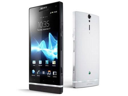 ������� Sony Xperia S � ������ � ���� Sony Xperia S