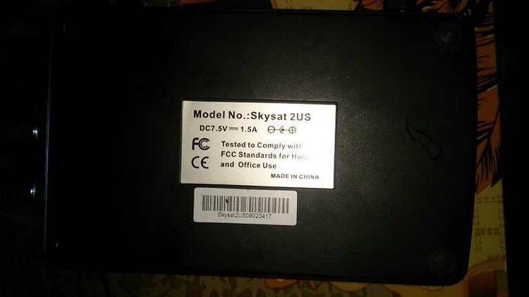 الإسطوانه الأصليه للكرت skysat 2 us-FLY VIEW SKYSAT DVB-S USB Box