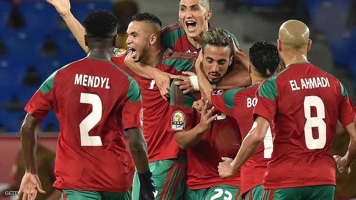 صور تأهل منتخب المغرب لكأس العالم 2018 بالصور فرحة المغرب
