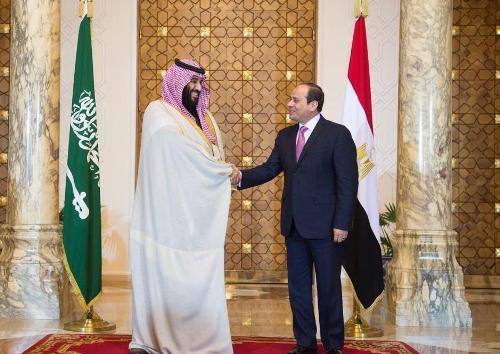 صور محمد بن سلمان في القاهرة , صور الامير محمد بن سلمان مع الرئيس عبدالفتاح السيسي