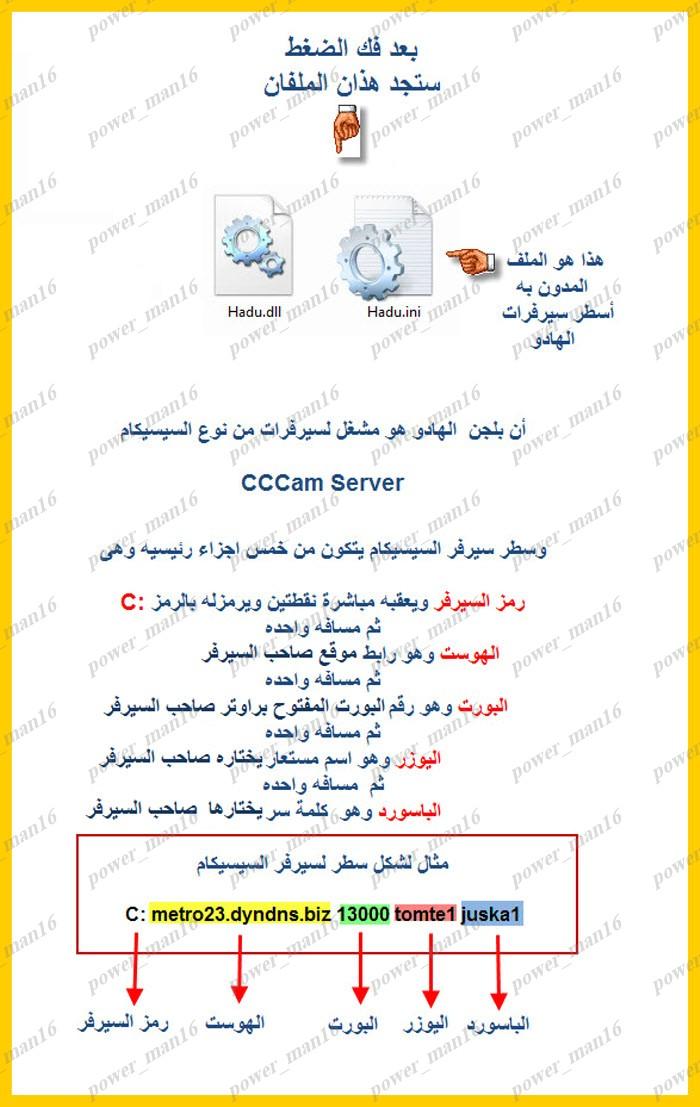 شرح إحتراف فتح القنوات المشفره ببلجن الهادو وعرض للمصطلحات وحلول المشكلات