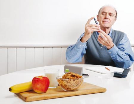 الرجيم الغني بالبوتاسيوم لصحة الكلى عند مرضى السكري