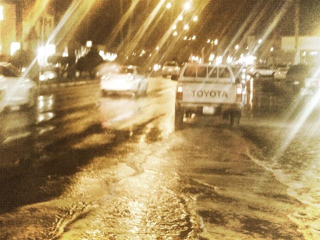 هطول غزير للأمطار بوادي موسى والبتراء والعقبة ومحافظات الجنوب اليوم الخميس 8/5/2014