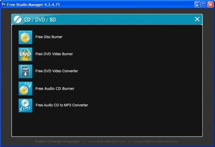 ستوديو متكامل يحتوى على 48 برنامج ميديا مجانى Free Studio 6.0.0.128