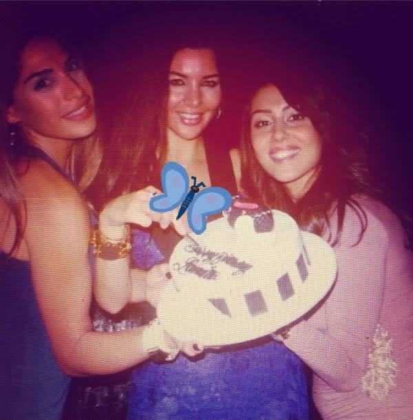 صوراحتفال لاميتا فرنجية بعيد ميلادها 2013 , صور الفنانة و الممثلة اللبنانية لاميتا فرنجية 2014