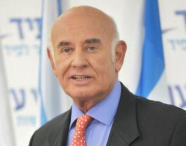 بالصور مشاركة وزير العلوم والتكنولوجيا في حكومة الاحتلال يعقوب بيري في مؤتمر البحر الميت