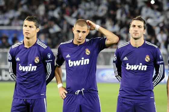 ريال مدريد 2012 - ثلاثي مدريد الهجومي افضل ثلاثي في التاريخ ب101هدف كرستيانو وبنزيما وهيغواين