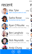 ����� Messenger ������ Windows Phone 8