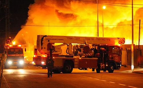 أخبار حريق مصنع توشيبا يوم الأحد 29/4/2012 , حريق توشيبا بقويسنا 29/4/2012
