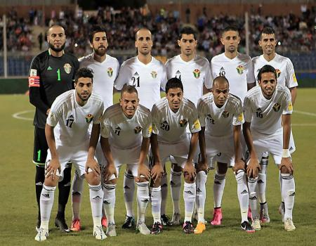 انطلاق مباراة الاردن ومنتخب قيرغيزستان