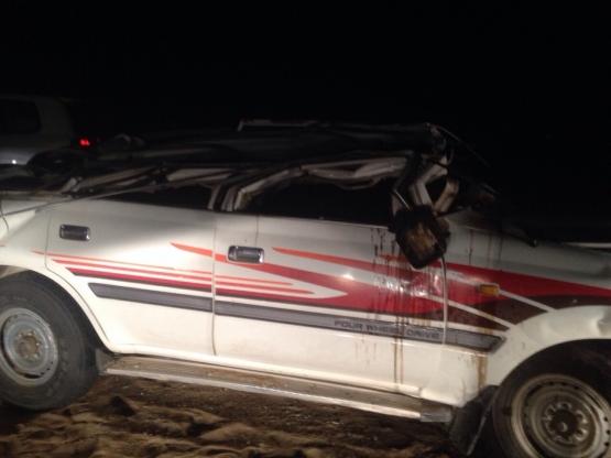 صور وتفاصيل حادث وفاة الشيخ صقر بن وخيضر السلمي واصابة ابنة في خليص