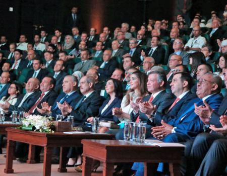 جلالة الملك يرعى الحفل السنوي لصندوق عبدالله الثاني للتنمية
