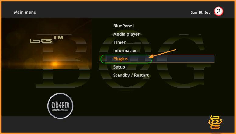 طريقة تثبيت BluePanel على الصوره OE2.0 OoZooN