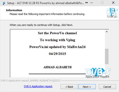ALT DVB V2.2 B 4115 PowerVU R3 By power_man 16 , Ahmad
