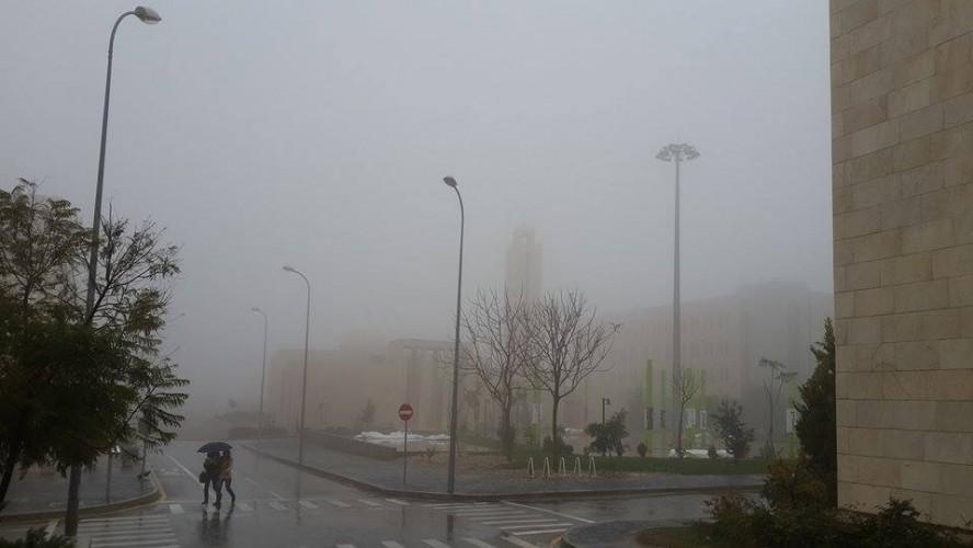 طقس بارد غائم ماطر اليوم الخميس 27/11/2014 في المملكة الاردن