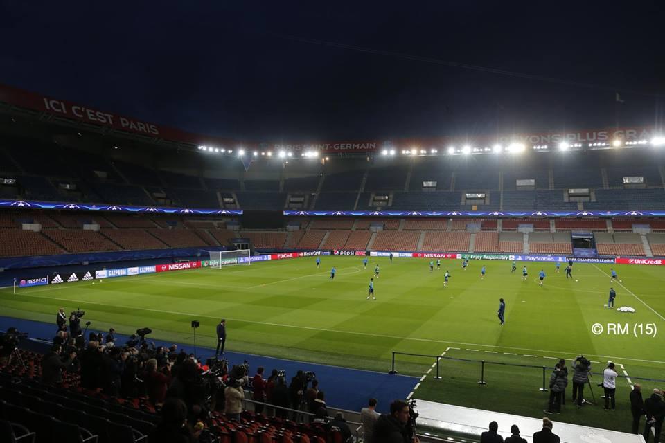 مواجهة ريال مدريد لنادي باريس سان جيرمان على ملعب حديقة الأمراء 21-10-2015