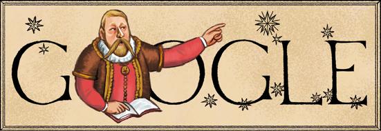 قوقل يحتفل بالذكر 467 لميلاد عالم الفلكي تيخو براهي اليوم السبت 14-12-2013