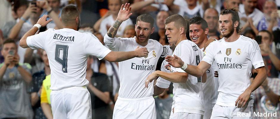 ريال مدريد يريد الصدارة من بوابة الكلاسيكو الاول هذا الموسم