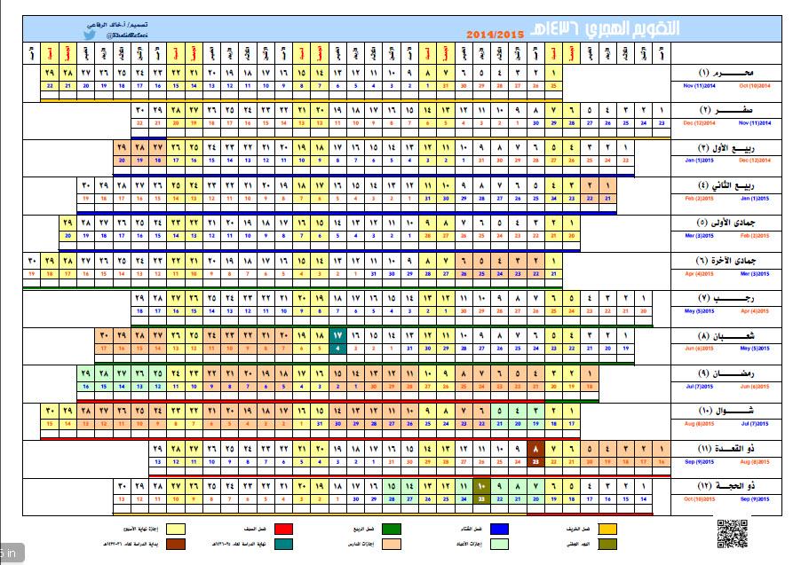 التقويم الميلادي لعام 2015