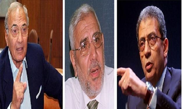 مصر تنتخب 2012 , انتخابات الرئاسة 2012 ,  أبو الفتوح في الصدارة وشفيق يتقدم للمركز الثاني
