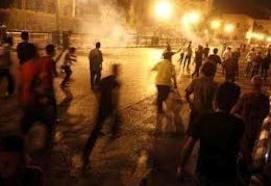 الأردن الان 5/4/2014 , مشاجرة كبيرة بين عائلتين سوريتين بالغويرية والأمن يفضها
