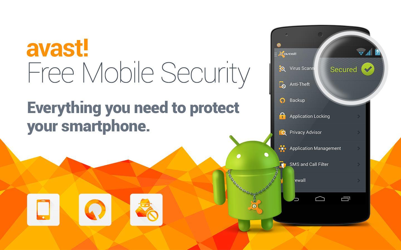 تطبيق أفاست للحماية اندرويد موبايل