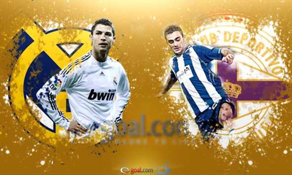 القنوات الناقلة لمباراة ريال مدريد وديبورتيفو لاكورونيا 23/2/2013