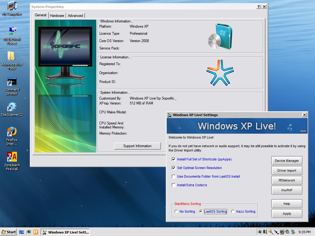 Windows LastXP v22 SP3 [Original] | 4.37GB