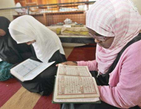 نساء الكونغو الديمقراطية متميزات بحفظ القرآن الكريم