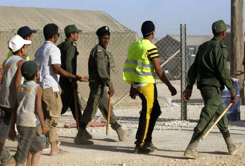 22 إصابة من الأمن والدرك بأعمال شغب واسعة في الزعتري