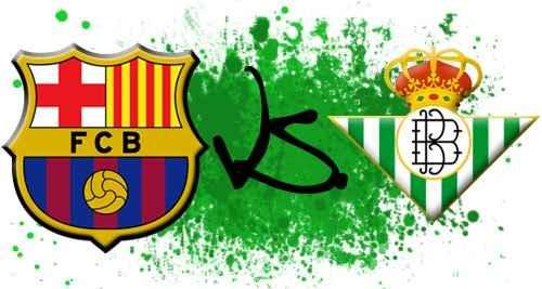 معلق مبارة برشلونة وريال بيتيس اليوم الاحد 10/11/2013