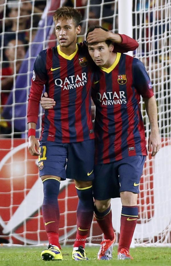 نتيجة واهداف مباراة برشلونة وميلان اليوم الاربعاء 6-11-2013