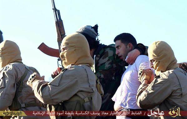 تعليقات داعش عن الطيار الاردني