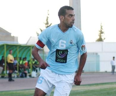 حسونة الشيخ لاعب المنتخب الوطني والنادي الفيصلي في السجن بتهمة إطلاق نار