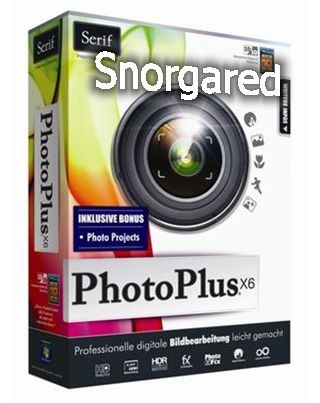 Serif PhotoPlus X6 ISO TBE + Serif Photo Textures and Overlays Collections 1,2